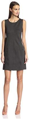 Society New York Women's Seamed Shift Dress