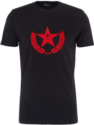 Yulia Yefimtchuk+ Star crest print unisex T-shirt