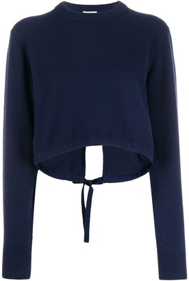 Chloé long sleeve cropped sweater