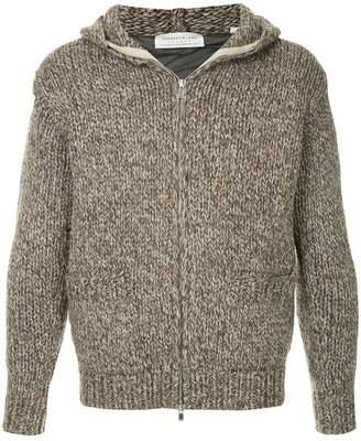 TOMORROWLAND hooded zip cardigan