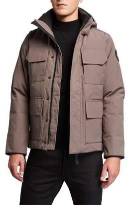 Canada Goose Men's Maitland Hooded Parka Coat