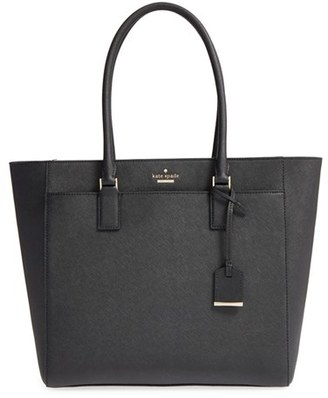 Kate Spade New York 'cameron Street - Havana' Textured Leather Tote $378 thestylecure.com