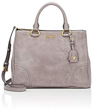 Miu Miu WOMEN'S LEATHER SATCHEL