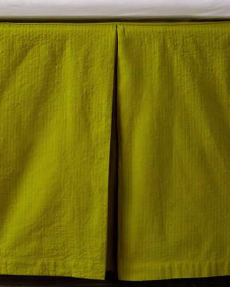 Coyuchi Baby Seersucker Crib Skirt
