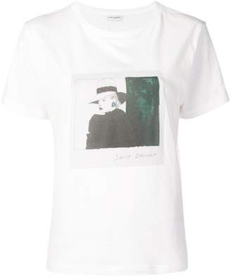 Saint Laurent Photographic print T-shirt