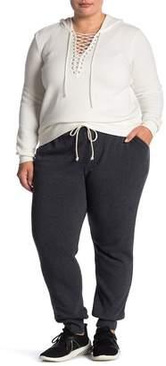 Alternative Drawstring Fleece Joggers (Plus Size)