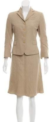 Akris Punto Knit Skirt Suit