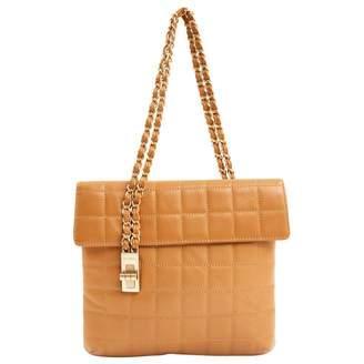 Chanel Vintage Camel Leather Handbag