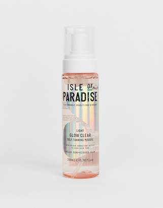 clear Isle Of Paradise Isle of Paradise Light Glow Self Tanning Mousse