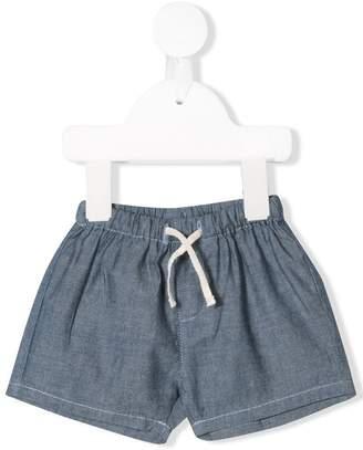 Knot elasticated waistband shorts
