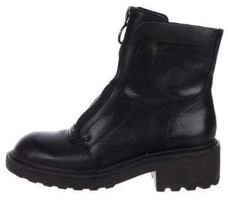 Ash Leather Ankle Boots