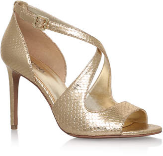730bf332500d MICHAEL Michael Kors Gold Sandals For Women - ShopStyle UK
