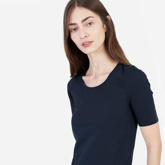 The Pima Stretch Mid-Sleeve $25 thestylecure.com