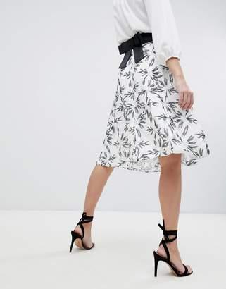 Vesper Printed Skater Skirt