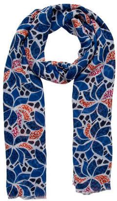 Diane von Furstenberg Printed Hanovar Scarf $70 thestylecure.com