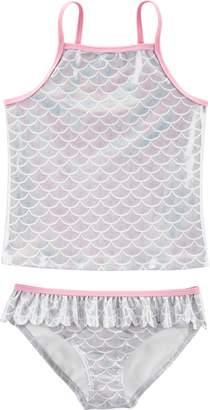 Carter's Girls 4-14 Mermaid Tankini Top & Bottoms Swimsuit Set
