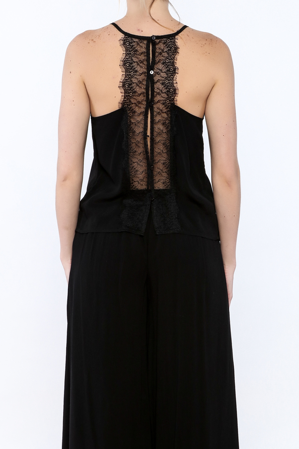 Bishop + Young Black Lace Camisole