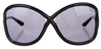Tom Ford Whitney Oversize Sunglasses