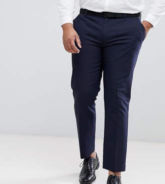 Asos DESIGN PLUS Wedding Skinny Suit Pants In Navy