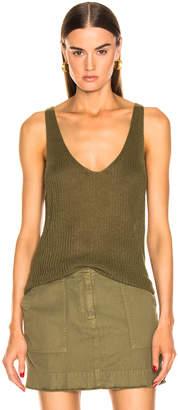 Nili Lotan Nala Knit Top in Olive | FWRD