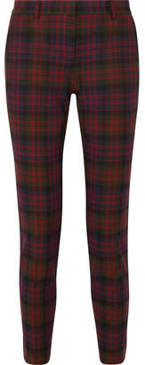 Philosophy di Lorenzo Serafini Tartan Twill Tapered Pants - Dark green