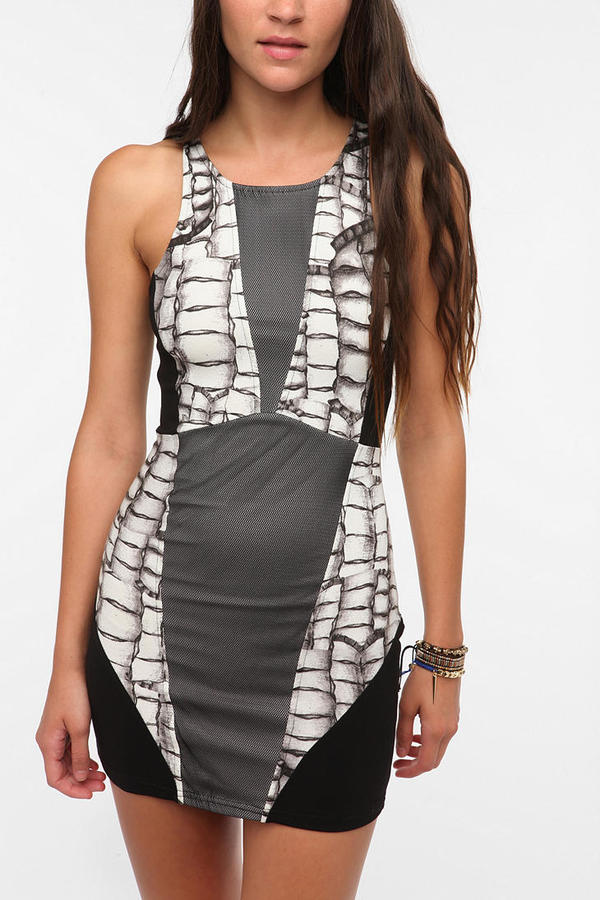Evil Twin All That Remains Bodycon Dress