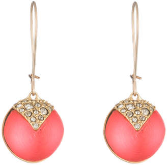 Alexis Bittar Origami Inlay Dangling Sphere Earring