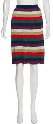 Gucci Striped Knee-Length Skirt