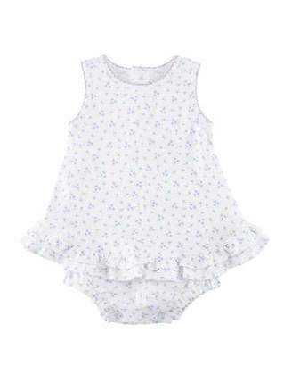 Kissy Kissy Little Girls Dreams Floral Bubble Bodysuit, Size 0-9 Months