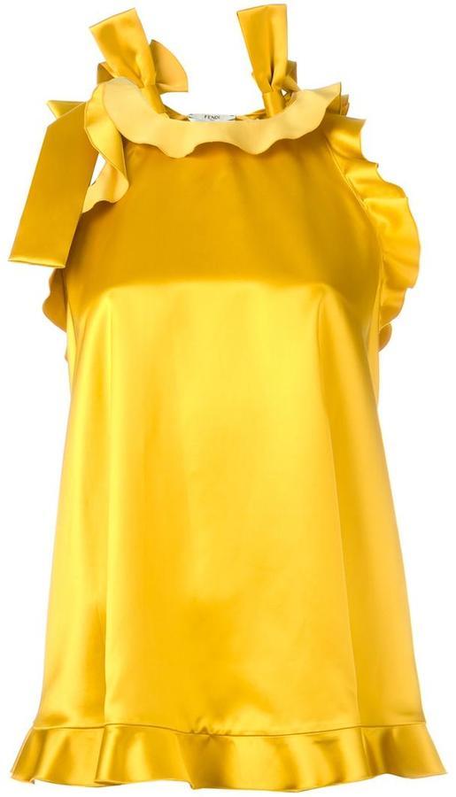 Fendi ruffled blouse