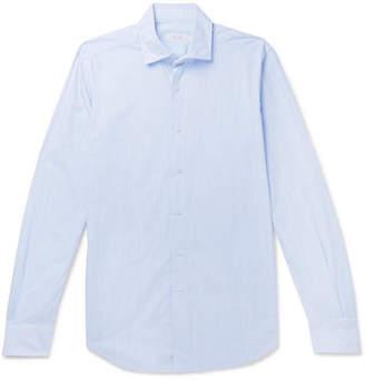 Incotex Fellini Slim-Fit End-On-End Cotton Shirt