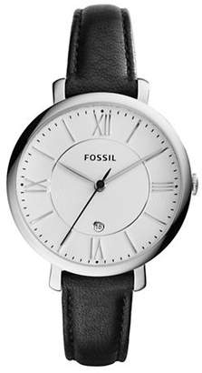 Fossil Jacqueline Analog Leather Watch
