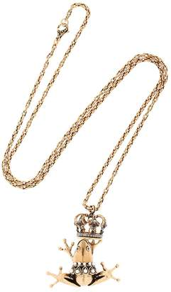 Alcozer & J Frog Prince Necklace