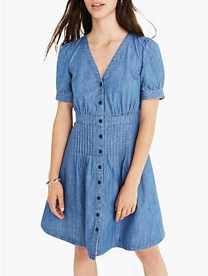 811a4a7c3e at John Lewis and Partners · Madewell Daylily Denim Dress
