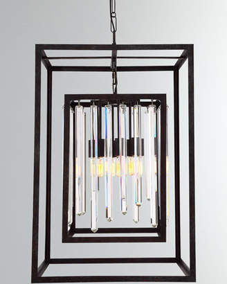 Hollis 8-Light Bronze Chandelier