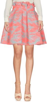 MSGM Knee length skirts - Item 35355917CW