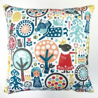 Artisan Pillows Christmas Nutcracker Winter Forest Throw Pillow Artisan Pillows