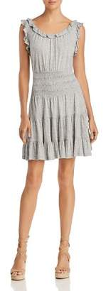 Rebecca Taylor Ruffled Jersey Dress