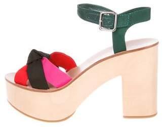 Loeffler Randall Multicolor Platform Sandals