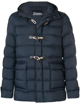 Herno toggle padded coat