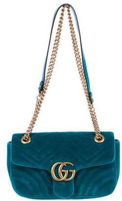 Gucci 2018 Small Marmont Shoulder Bag