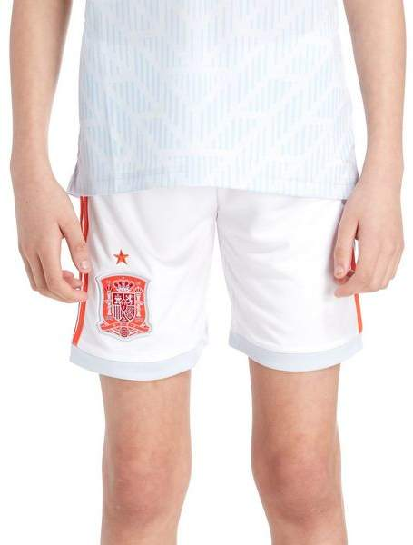 Spain 2018 Away Shorts Junior