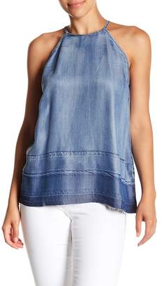 Do & Be Do + Be Release Hem Denim Tank