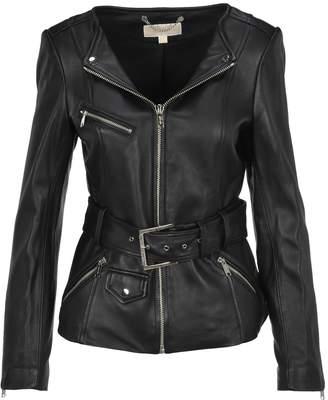 MICHAEL Michael Kors Michael By Michael Kors Lather Jacket Belt