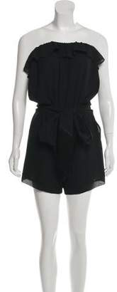 Pinko Strapless Belted Romper w/ Tags