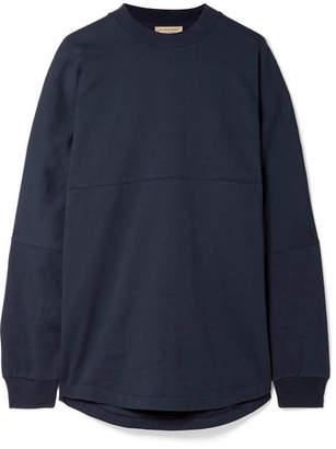 Burberry Oversized Printed Cotton-jersey Sweatshirt
