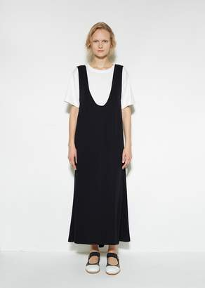 Marni Plunge Dress Deep Blue