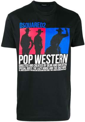 DSQUARED2 Pop west graphic printed T-shirt