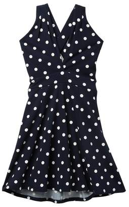 Love, Nickie Lew X Front Illusion Hi-Lo Dress (Big Girls)