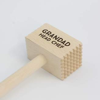 Hot Dot Personalised Wooden Meat Hammer